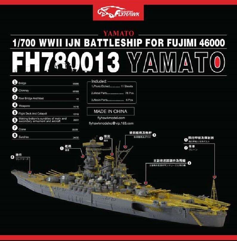 Flyhawk 1 700 780013 IJN Yamato for Fujimi