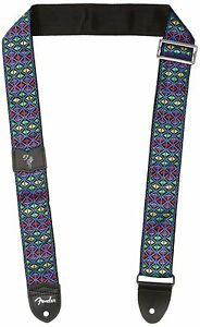 Genuine-Fender-2-034-Wide-Eric-Johnson-Signature-034-The-Walter-034-Blue-Guitar-Strap