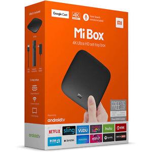 Xiaomi Mi Box 4K HDR 2016 Android TV 8GB Media Streamer Model MDZ-16-AB