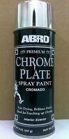 NEW Premium CHROME Plate Spray Paint, ABRO SP-317, 8oz/227g