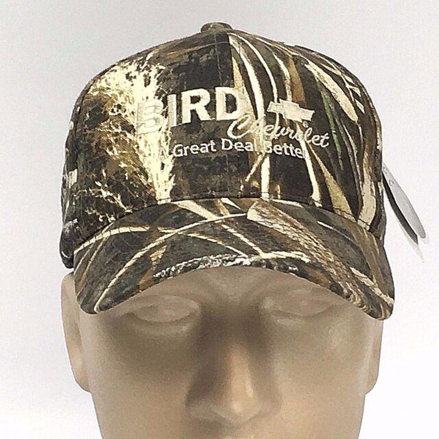 d28c1db3813 New BIRD CHEVROLET Hat Dubuque IA REALTREE CAMO BASEBALL CAP Chevy Auto  Adjust