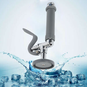 Details about 1.42 GPM Pre-Rinse Sprayers Sink Spray Head Valve for  Commercial Kitchen Faucet