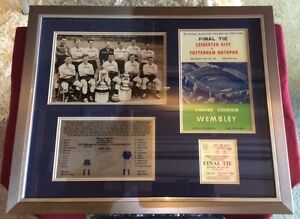 Leicester City V Tottenham 1961 FA Cup Final Framed Picture - <span itemprop=availableAtOrFrom>South Ockendon, United Kingdom</span> - Leicester City V Tottenham 1961 FA Cup Final Framed Picture - South Ockendon, United Kingdom
