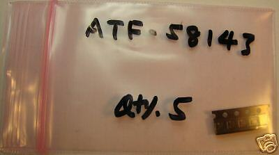 Agilent Low Noise pHEMT NF=0.5dB Qty.5 ATF-58143,New
