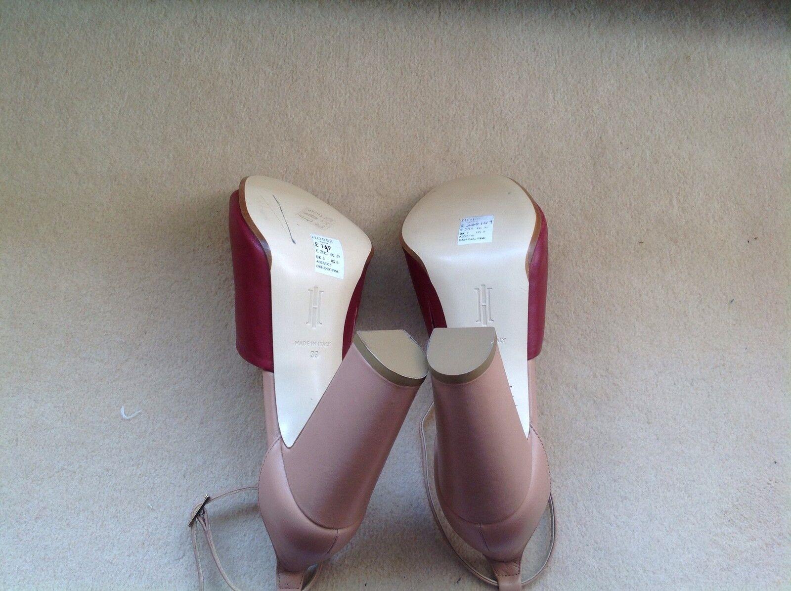 HOBBS Freya Oxblood Pink Pink Pink Sandals.Size 6UK. 79f07b
