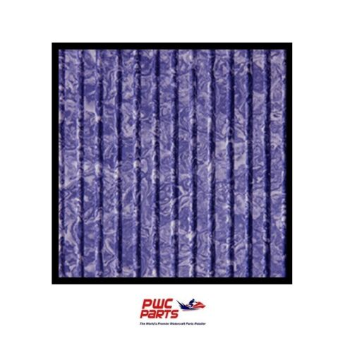 """BLACKTIP Traction Mat Sheet w// Adhesive Purple Marble 39/"""" x 78/"""" Cut Groove"""