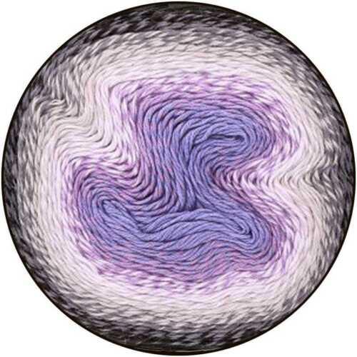 cotton blend Dark Grape Squish :Whirl #786: Aurora Scheepjes Yarns