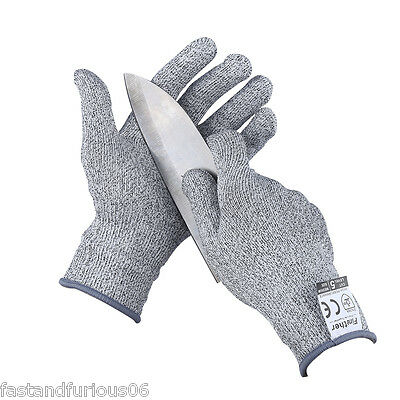 Cut-Resistant Gloves Level 5 Cut Resistance Anti-Cutting Safety Glove S Size NEW