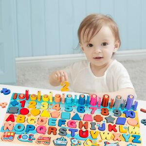 Kid occupé Board Math Montessori éducatif en bois enfants jouets UK Stock Qualité