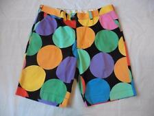 Loudmouth Mens 42 multi color Disco Ball big dot golf shorts athletic casual fun