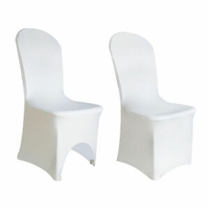 White-Chair-Covers-Stretch-Spandex-Lycra-Wedding-Banquet-Anniversary-Party-Decor