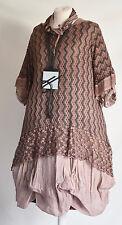 GERMAN STELLA BY SHE!! 3 PIECE DRESS/TUNIC/SCARF SET SZ L/XL TAUPE LAST 1 SALE