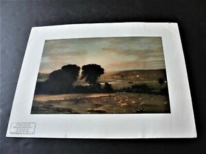 Peace-and-Plenty-by-George-Inness-American-1950s-Reproduction-Print