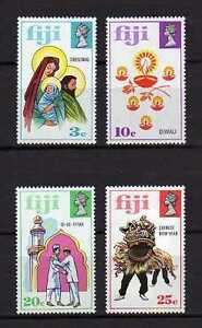 15849) Fiji 1973 MNH New Christmas And Festivals