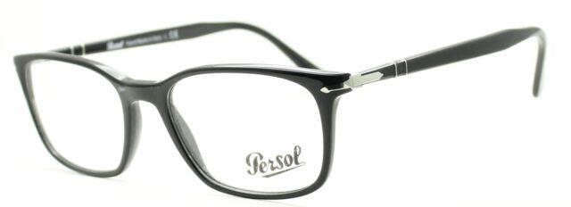 0f98d7cb6d PERSOL 3189-V 95 Black Eyewear FRAMES Glasses RX Optical Eyeglasses  ItalyTRUSTED