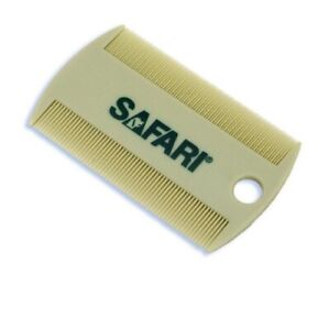 Safari Double Sided Flea Comb for Dogs Cats