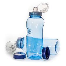 Flasche Sport 3 x 1 L Trinkflasche Wasserflasche aus Tritan Bisphenol A frei