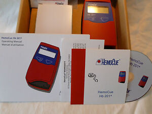 Brand New In Box Hb 201 Hemocue Analyzer 121721
