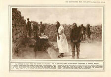 1915 Gallipoli French Soldier-priest Funeral Service Armoured Car Barricade Batt