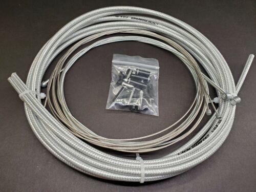 Braided OEM Jagwire Brake//Shifter Cable Set Housing kit Road//MTB Bike UNIVERSAL