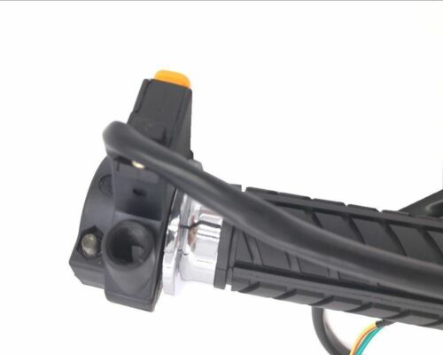 Right Throttle Handle//Grip w// Kill Switch with Metal Pin Combo gas motor bicycle
