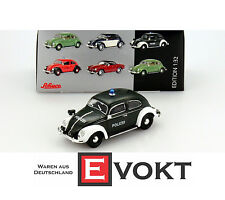 Schuco Diecast Model Car 1 32 VW VOLKSWAGEN Beetle Ovali Polizei Police Vehicle