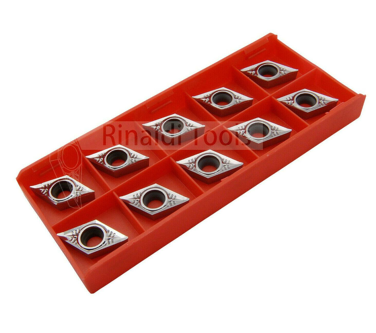10 x DCGT11T304-AL RT100 (K10) polierte Spanfläche