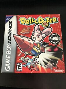 Drill-Dozer-Nintendo-Game-Boy-Advance-2006-Has-Manuals-And-Box-Etc