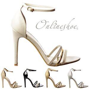 manchette broche demi soirᄄᆭe sangle chaussures de Cheville talons POuXkTZi