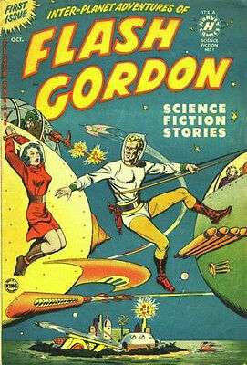 "King Comics Flash Gordon  #1  1950  Golden Age   ( FRIDGE MAGNET 4""X6"" )  Decor"