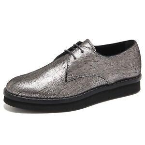 Ebay 6351n Argento Donna Shoes Scarpa Women Tod's Allacciata Scarpe FZn8RFr