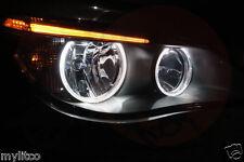 4x BMW 5 Series E60 E61 PRE LCI ANGEL EYE HALO RING LIGHT WHITE LED CANBUS BULBS