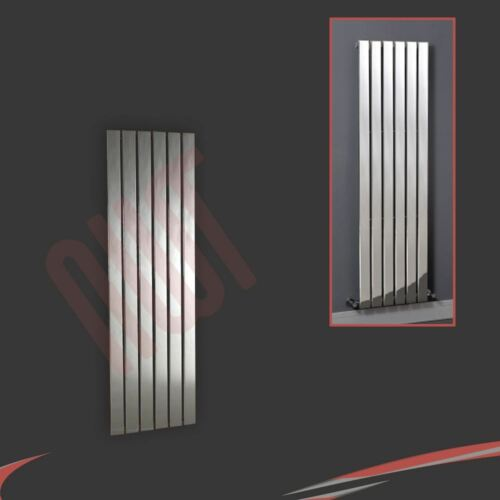 "/""Luna/"" Flat Panel Designer Chrome Radiators Central Heating Vertical Horizontal"