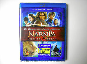 Disney-The-Chronicles-of-Narnia-Prince-Caspian-Blu-ray-amp-DVD-Eng-French-Spanish