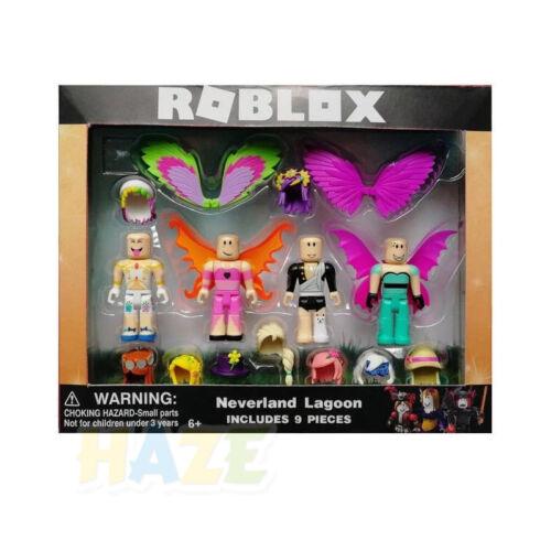 7pc//Sets Roblox Game Figure Champion Robot Mermaid Figurine Toys Model No Box