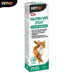 VetIQ-Vitamin-amp-Mineral-Supplement-Nutri-Vit-Plus-Energiser-Paste-Pour-Cats-70g