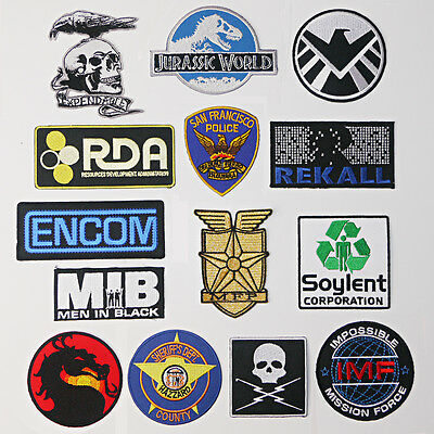 GREAT MOVIE PATCHES Great Iron-On Patch Series, Great Movies, Great Price - NEW