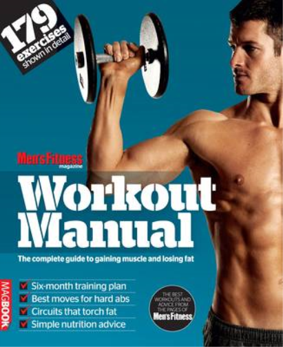 Mens Fitness Workout Manual MagBook, Mens Fitness, Used; Good Book