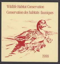 FWH4 1988 PINTAILS BY ROBERT BATEMAN, FEDERAL WILDLIFE CONSERVATION & STAMP