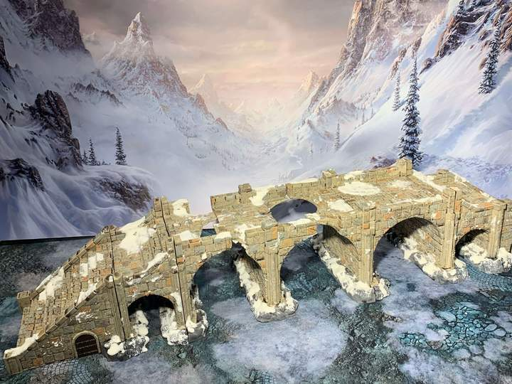 RM Studios - The Bridge - Wargames Miniatures Scenery Medieval Fantasy 28mm