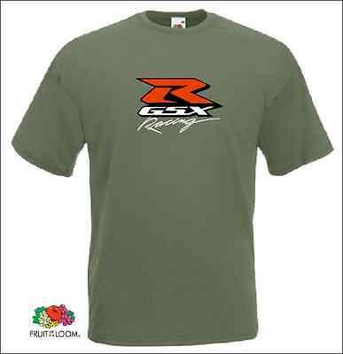 Suzuki GSXR T-SHIRT  motorcycles GSX shirt - Fruit of the loom