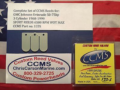 NOS OMC EVINRUDE JOHNSON REED BOX AY P//N 5000323 NIOB