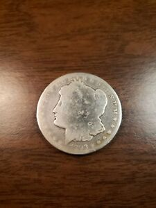 1893-CC-Morgan-Silver-Dollar-Semi-Key-Date-Nice-1-Coin-Very-Collectible