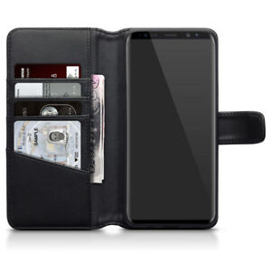 custodia in pelle per samsung s9 plus