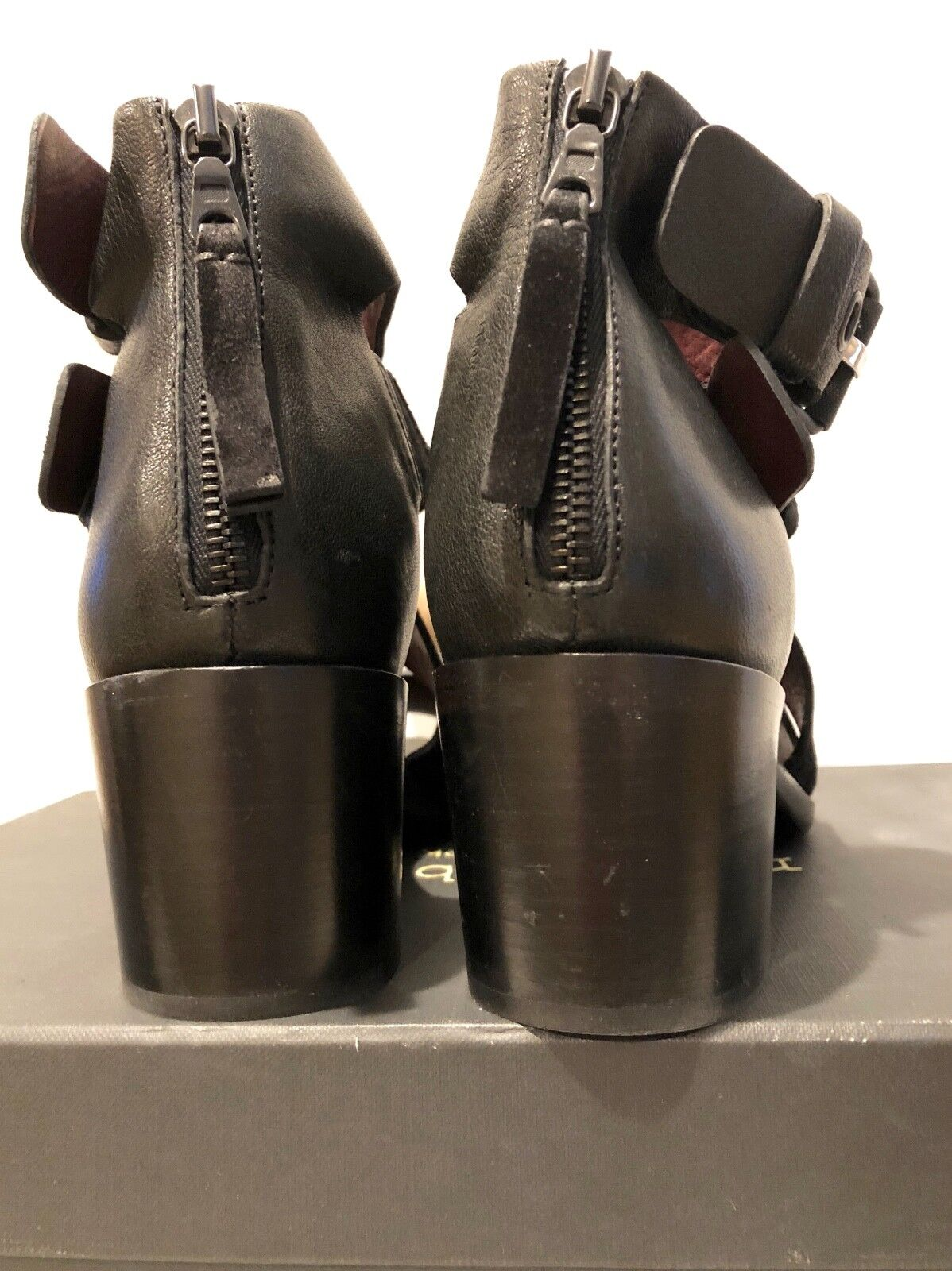 Rag & bone nero Suede Suede Suede Madrid Sandal W264F939I Dimensione36 9f2f27