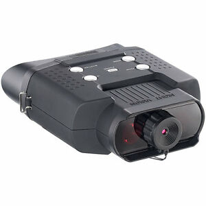 Nachtsicht-Nachtsichtgeraet-DN-700-Binokular-bis-400-m-Sichtweite-SD-Aufnahme