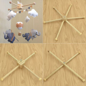 Details About Baby Hanger Crib Wooden Crafts Frame Mobile Diy Crafts Handmade Newborn Toy
