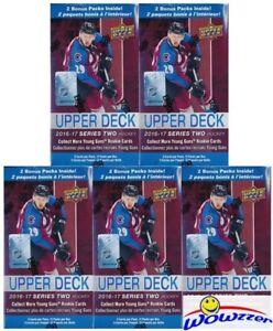 5-16-17-Upper-Deck-Series-2-Hockey-EXCLUSIVE-Factory-Sealed-12-Pack-Blaster-Box