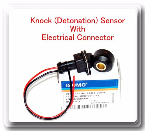 Sensor W// Electrical Connector Fits Knock Detonation Infiniti Nissan /& Suzuki