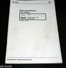 Werkstatthandbuch VW Polo 6N  1AV Einspritzanlage und Zündanlage ab 1995